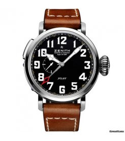 Zenith [New] 03.2430.693/21.C723 Pilot Montre d'Aeronef Type 20 GMT (Retail: HK$58,900)