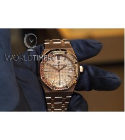 Audemars Piguet [NEW 2018 MODEL] ROYAL OAK LADIES SELFWINDING 15451OR.YY.1256OR.01
