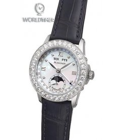Blancpain [NEW] Leman Ladies Moonphase & Complete Calendar 34mm 2360-4691A-55A