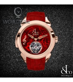 Jacob & Co. [NEW][LIMITED 12 PIECE] Palatial Flying Tourbillon Minute Repeater PT520.40.NS.QR.A (Retail:HK$2,529,500)