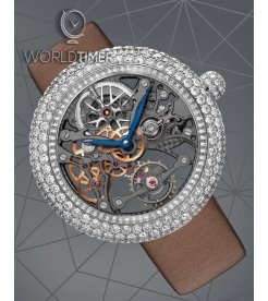 Jacob & Co. 捷克豹 [NEW][LIMITED 101 PIECE] Brilliant Skeleton Jewelry White Gold BS531.30.RD.BB.A (Retail:HK$754,100)