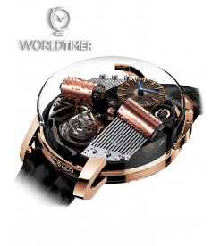 Jacob & Co. 捷克豹 [NEW][LIMITED 18 PIECE] Opera By Jacob & Co. OP100.40.AN.AB.A (Retail:HK$2,863,500)
