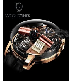 Jacob & Co.捷克豹 [NEW][LIMITED 18 PIECE] Opera By Jacob & Co. Godfather Musical Watch OP100.40.AD.AB.A (Retail:HK$3,149,900)