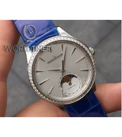 JAEGER LECOULTRE [NEW] Master Ultra Thin Automatic Ladies Diamond Watch Q1258401