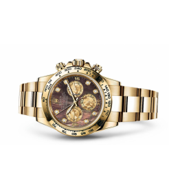 Rolex [NEW] 116508 YG Mother Of Pearl Oyster Perpetual Cosmograph Daytona Watch