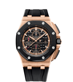 Audemars Piguet [NEW 2017 MODEL] Royal Oak Offshore Chronograph 26401RO.OO.A002CA.02 (Retail:HK$360,000)