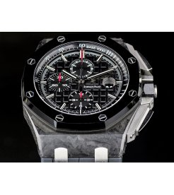 Audemars Piguet [NEW] 26400AU.OO.A002CA.01 Royal Oak Offshore Black Dial (Retail:HK$289,000)