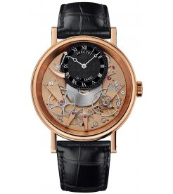 Breguet [NEW] Tradition, Pink Gold, 7057BR/R9/9W6 (List Price: HK$219,700)
