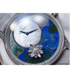 Jaquet Droz [NEW][LIMITED 28 PIECE][全新限量28支] PETITE HEURE MINUTE RELIEF CARPS LADIES J005024279 (Retail:CHF 74000)