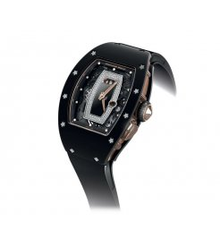 Richard Mille [NEW] RM 037 Ladies Automatic Black Ceramic with Rose Gold (Retail:HK$1,017,000)