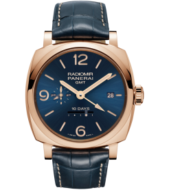 PANERAI [NEW][LIMITED 200] PAM 659 RADIOMIR 1940 10 DAYS GMT AUTOMATIC 'ORO ROSSO' (Retail:HK$262,300)