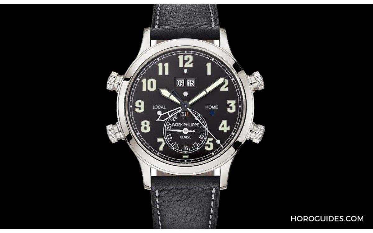 PP首款防水響鈴GMT腕錶 5520P