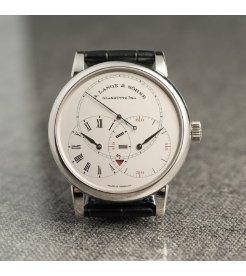 A. Lange & Söhne [NEW][LIMITED 100] Richard Lange Jumping Seconds 252.025 (Retail:EUR 78.700) - SOLD!!