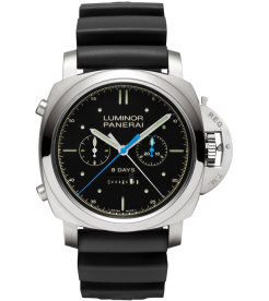 PANERAI [NEW] LUMINOR 1950 RATTRAPANTE 8 DAYS TITANIO 47MM PAM 530 (Retail:HK$175,500)