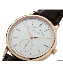 A. Lange & Sohne [NEW] Saxonia Automatic 38.5mm Mens 380.032 (Retail:EUR 22100)