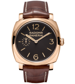 Panerai [NEW][LIMITED 100] PAM 398 Radiomir 1940 Oro Rosso (Retail:HK$327,400)