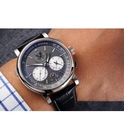 A. Lange & Söhne [NEW][LIMITED 100 PIECE] 424.038 Triple Split White Gold Grey Dial Watch