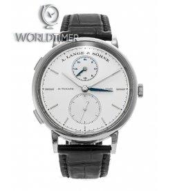 A. Lange & Sohne [NEW] Saxonia Dual Time 385.026 (Retail:EUR 27200)