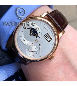 A. Lange & Sohne [NEW] Lange 1 Moonphase Rose Gold 139.032 (Retail:EUR 43500)
