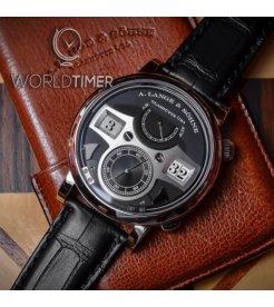 A Lange and Sohne 全新 145.029 Zeitwerk Striking Time 44.2mm Mens Watch