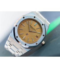 Audemars Piguet [NEW][LIMITED 75 PIECE] Royal Oak Extra-Thin White Gold 15202BC.OO.1240BC.01