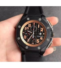 "Audemars Piguet [2012 LIKE NEW][LIMITED 15000 PIECE] Royal Oak Offshore ""Arnold Schwarzenegger The Legacy"" 26378IO"
