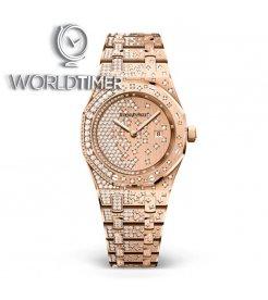 Audemars Piguet [NEW] Royal Oak Quartz Rose Gold Ladies 67654or.zz.1264or.01