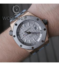 Audemars Piguet [NEW][LIMITED 500 PC] Royal Oak Offshore Diver Rose Gold 15711OI.OO.A006CA.01