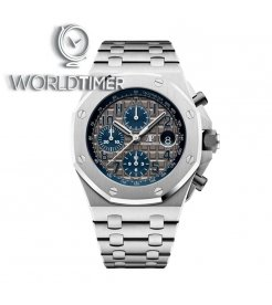 Audemars Piguet [NEW][LIMITED 200 PIECE] Royal Oak OffShore 42mm Chronograph QEII Cup 2018 26474TI.OO.1000TI.01