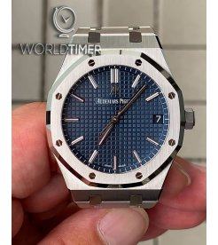 AUDEMARS PIGUET [NEW] Royal Oak Blue Dial Automatic 15500ST.OO.1220ST.01