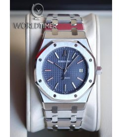 Audemars Piguet [2018 USED] Royal Oak 39mm Steel 15300ST.OO.1220ST.02 Blue Dial Watch