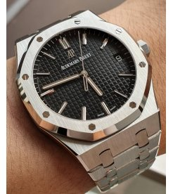 AUDEMARS PIGUET [NEW] Royal Oak Black Dial Automatic 15500ST.OO.1220ST.03