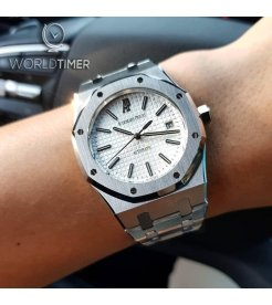 AUDEMARS PIGUET [NEW] Royal Oak 15450ST White Dial Ladies Watch