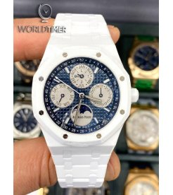 Audemars Piguet [NEW] Royal Oak Perpetual Calendar White Ceramic 26579CB.OO.1225CB.01