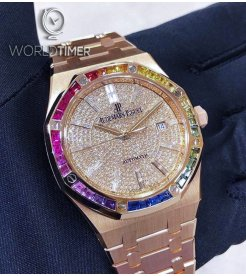 Audemars Piguet [NEW] Rainbow Pave Diamonds 15413OR.YY.1220OR.01