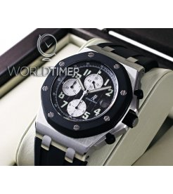 "Audemars Piguet [2005 USED] Royal Oak Offshore ""Rubberclad"" 25940SK.OO.D002CA.01.A"
