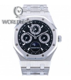 Audemars Piguet Royal Oak Perpetual Calendar Japan Edition Platinum 26597PT Mens Watch