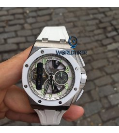 Audemars Piguet [2016 USED] Royal Oak Offshore Tourbillon Chrono 26387IO.OO.D010CA.01 (Retail:US$288,000)