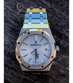 AUDEMARS PIGUET [NEW] Royal Oak Automatic White Dial 15400ST.OO.1220ST.02