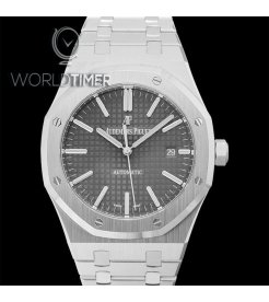 AUDEMARS PIGUET [NEW] ROYAL OAK GREY DIAL 15400ST.OO.1220ST.04