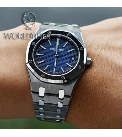 "AUDEMARS PIGUET [NEW] ROYAL OAK ""JUMBO"" EXTRA-THIN 39mm 15202IP.OO.1240IP.01"