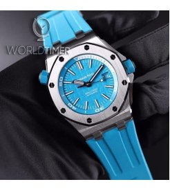 Audemars Piguet [NEW] Royal Oak Offshore Diver Turquoise Blue 15710ST.OO.A032CA.01