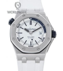 Audemars Piguet [NEW] Royal Oak Offshore Diver White Dial Watch 15710ST.OO.A010CA.01