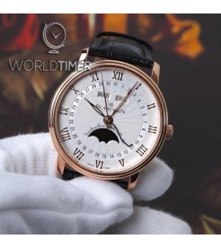 Blancpain [NEW] Villeret Moonphase & Complete Calendar 40mm 6654-3642-55B