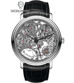 Blancpain [NEW] Villeret Squelette 8 Day Power Reserve 6633-1500-55B (Retail:CHF 63'800)