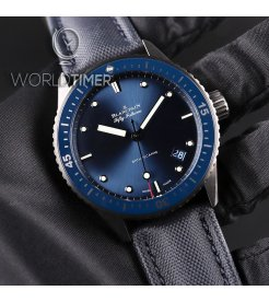 Blancpain [NEW] 5000-0240-o52a Fifty Fathoms Bathyscaphe Automatic 43mm