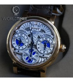 Bovet 播威 [NEW] Dimier Recital 17 Moonphase Triple Time Zone R170001-02 (Retail:CHF 60'000)