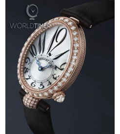 Breguet [NEW] Reine de Naples Automatic Mini Ladies 8928br/5w/844.dd0d