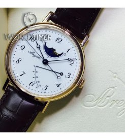 Breguet [NEW] 7787br/29/9v6 Classique Moonphase Power Reserve 39mm Mens (Retail:HK$236,900)