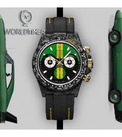 "Rolex DiW NTPT Carbon Daytona ""INTERLAGOS"" (Retail: US$56,500)"